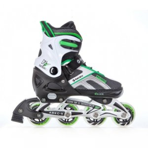 Rolki Raven Pulse (black/green)