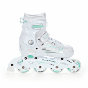 Rolki Raven Spirit (white/mint)